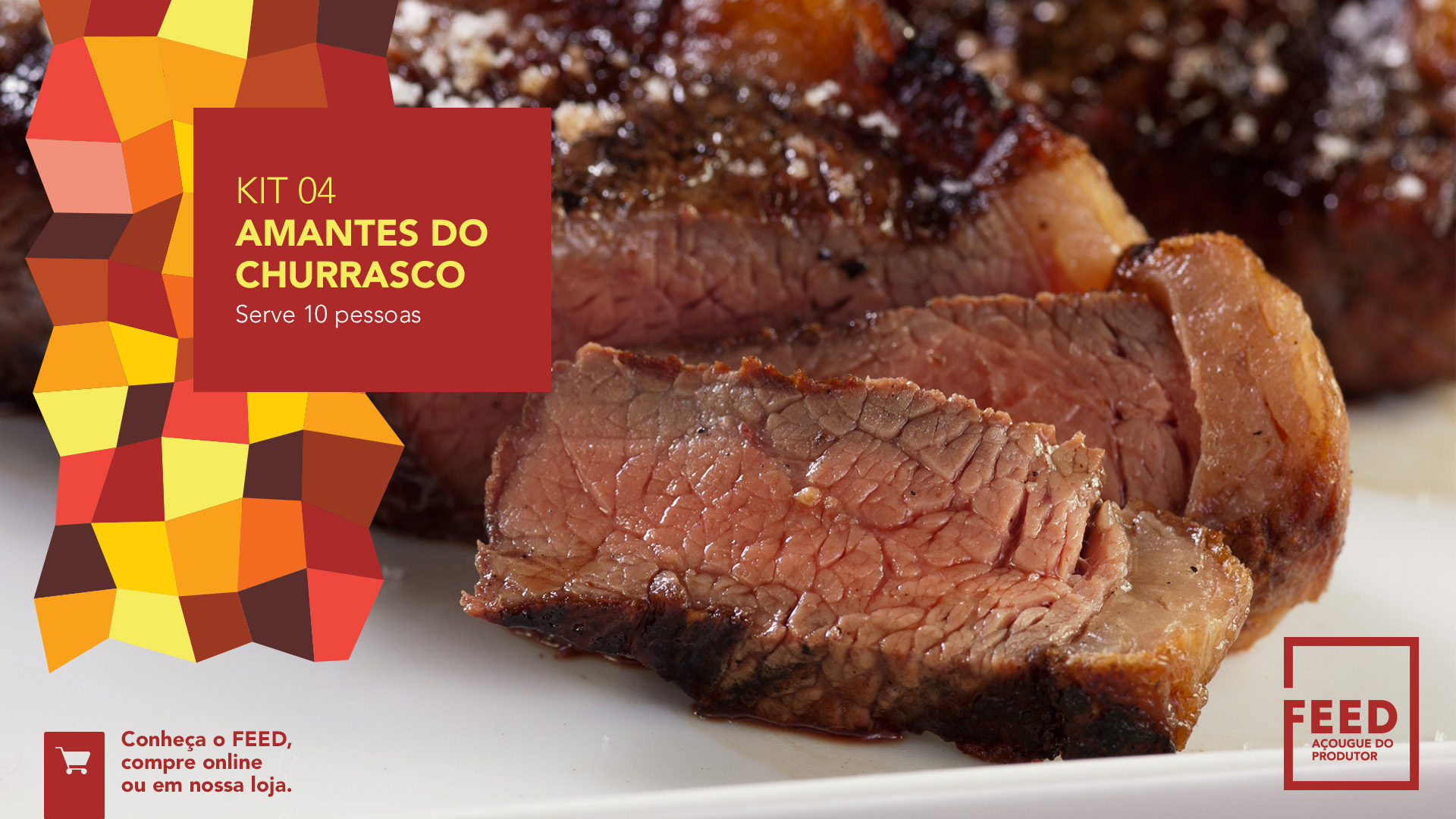 Kit - Amantes de churrasco